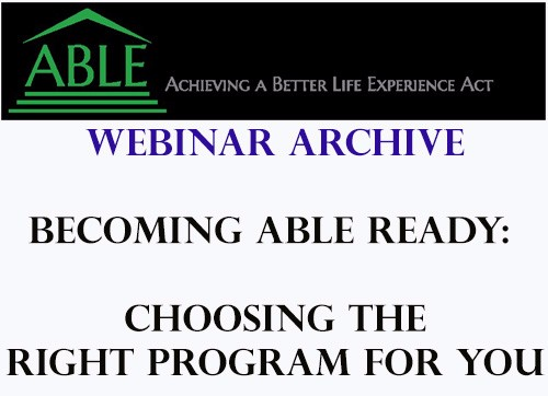 Webinar Archive Social Media. Click here to view the Webinar Series from ABIL!