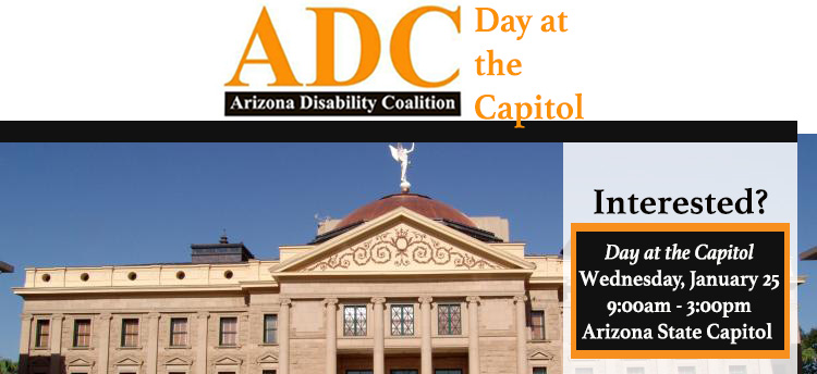 Join the ADC during their Day at the Capitol!